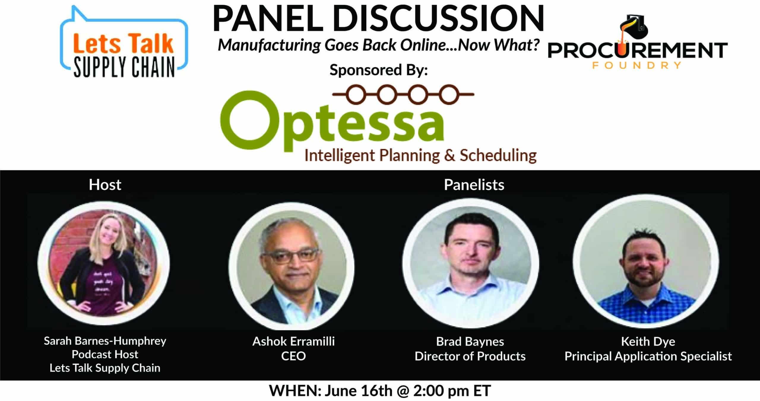 Optessa Panel Discussion