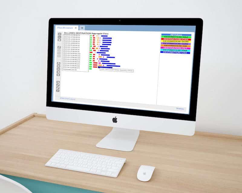 planning software screenshot