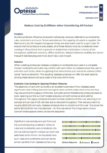 Reduce Costs by Millions when Considering All Factors Screenshot